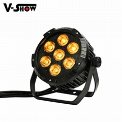 2018 NEW outdoor led par light 7*25W COB LED waterproof par can stage light IP65