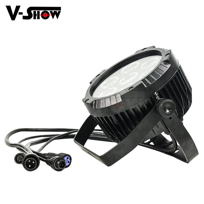 2018 NEW outdoor led par light 7*25W COB LED waterproof par can stage light IP65 3
