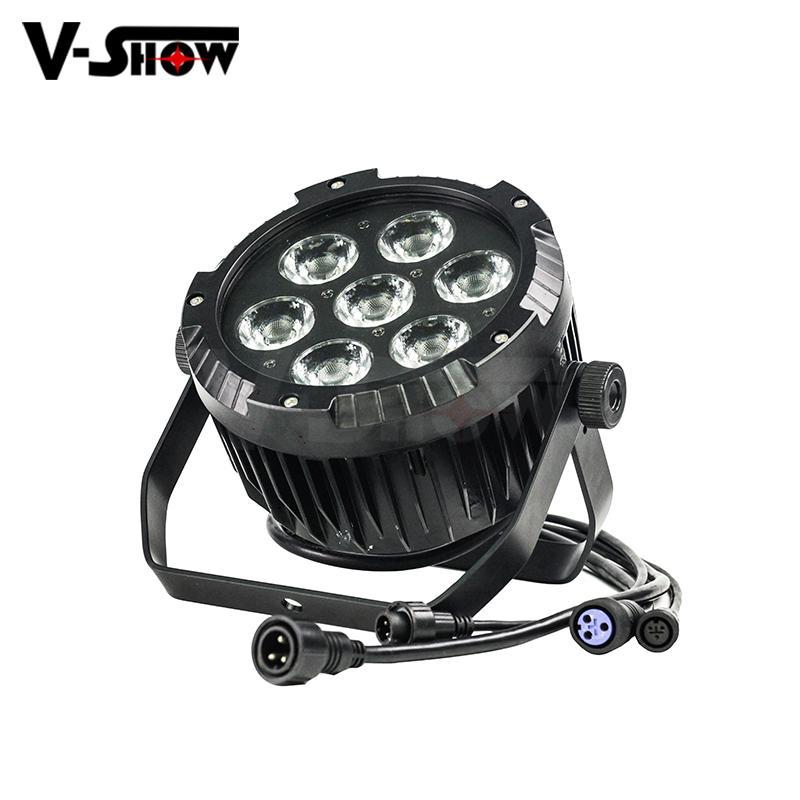 NEW outdoor led par light 7*25W COB LED waterproof par can stage light IP65 4
