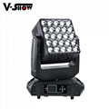 Zoom Moving Head 5x5 Matrix Panel, Light Strong 15W 4IN1 RGBW