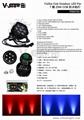 2018 NEW outdoor led par light 7*25W COB LED waterproof par can stage light IP65 8