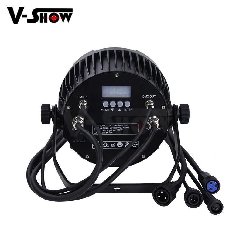 NEW outdoor led par light 7*25W COB LED waterproof par can stage light IP65 2