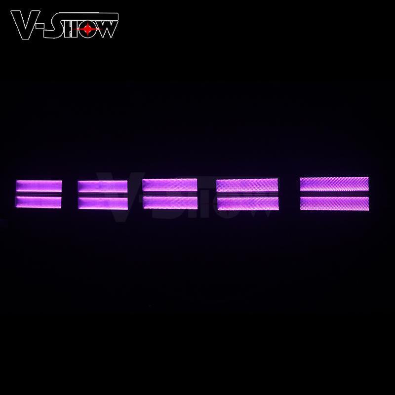 2018 new arrival 4pcs 2in1 Star LED Strobe led stage light RGB strobe lighting 7