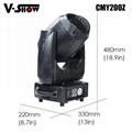 200W CMY Moving Head LED Zoom led zoom moving head light stage lighting 200w led 5