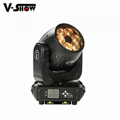 6X40W LED Beam Zoom Wash led moving head light high power moving head lighing