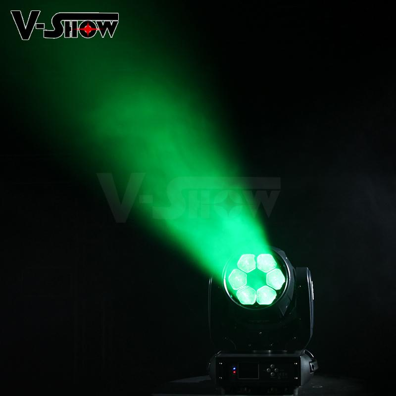 6X40W LED Beam Zoom Wash led moving head light high power moving head lighing 4