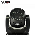 6x25W LED Super Beam mini moving head wash led moving light