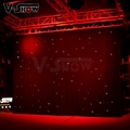 V-Show LED star curtain Background curtain lights 3*4M with controller
