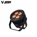 4*18W 6in1 RGBWA+UV Waterproof Battery Powered & wireless DMX LED Par IR control 2
