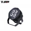 4*18W 6in1 RGBWA+UV Waterproof Battery Powered & wireless DMX LED Par IR control 3