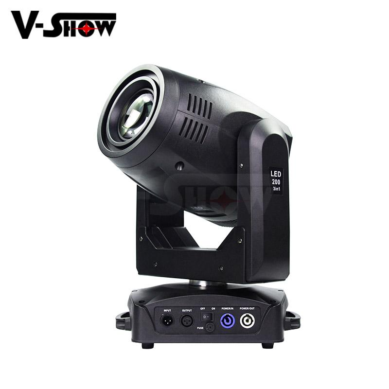 200W Beam Wash Spot LED 3in1 Moving LED high power stage moving head light