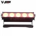 5PCS 30W RGBW 4in1 High Power LED wall washer light bright stage wall washer 4