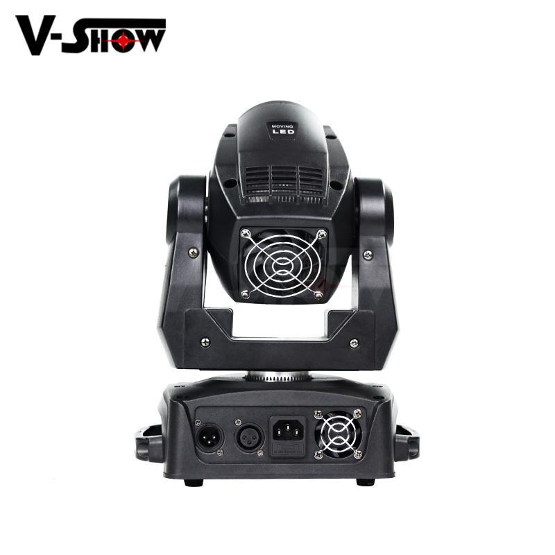 90W Mini LED Moving Spot moving head light stage led moving head light 3