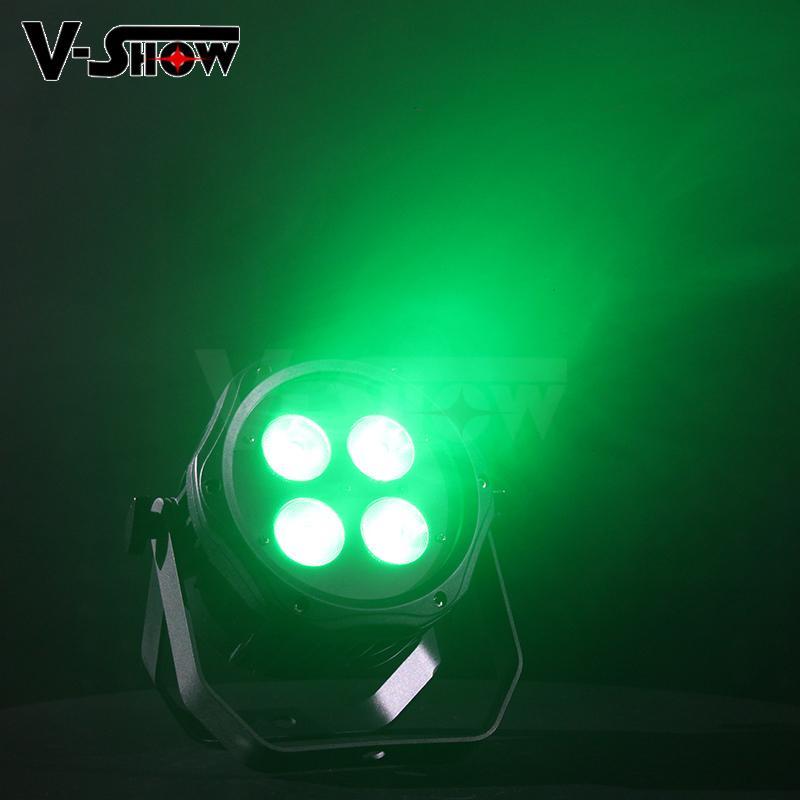 4*18W 6in1 RGBWA+UV Waterproof Battery Powered & wireless DMX LED Par IR control 7