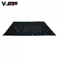 V-Show LED star curtain Background curtain lights 3*4M with controller 2