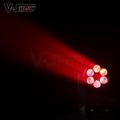 6x25W LED Super Beam mini moving head wash led moving light