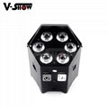 wireless dmx dj led par  /low power battery par can ,mobile dj led par
