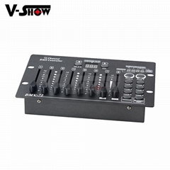 V-show DMX Controller 72CH Mini DMX Console DMX Desk For Stage Light
