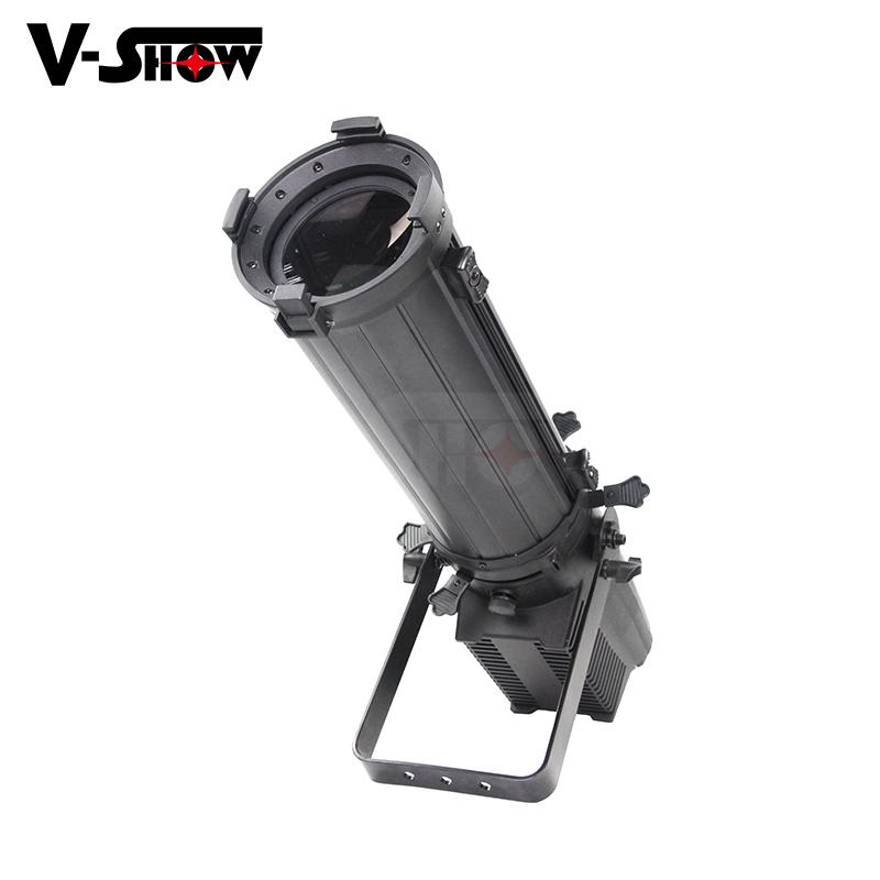 400W Die-casting RGBW LED Profile Light with Zoom for Wedding and Stage