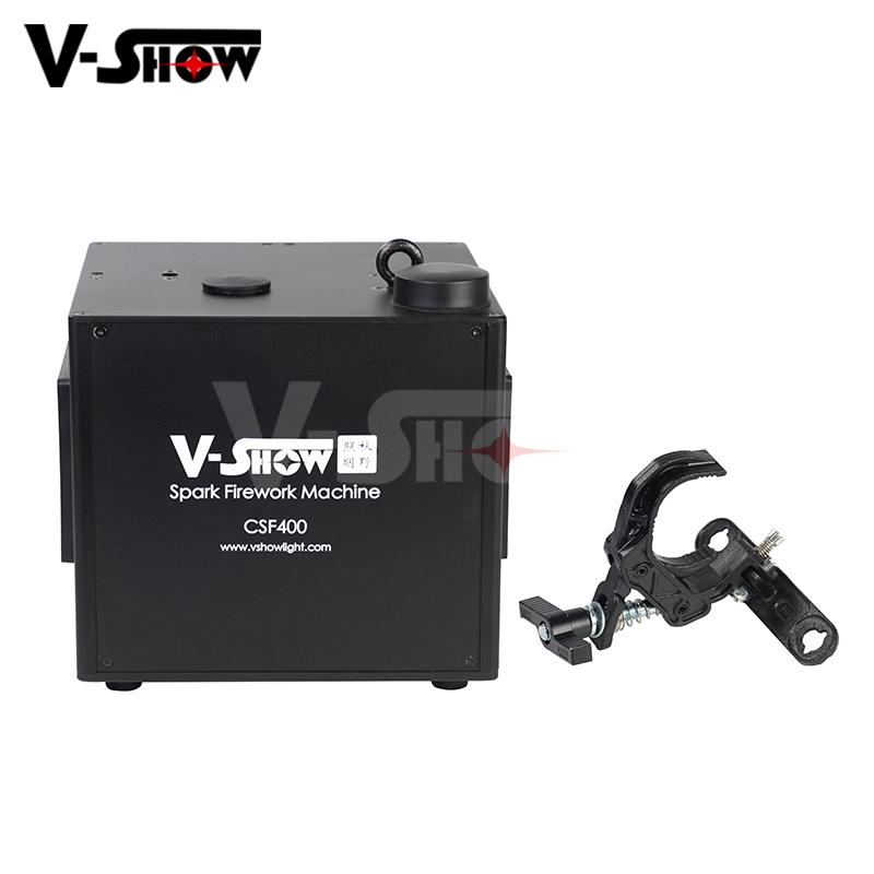 400W Fall Spark Firework Machine For Wedding DMX Control And Remote Control