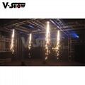 400W Fall Spark Firework Machine For Wedding DMX Control And Remote Control