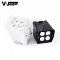 hotsale 2017 battery par light battery powered led par led par light for wedding