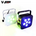 hottest 6*18w rgbwa uv wireless dmx