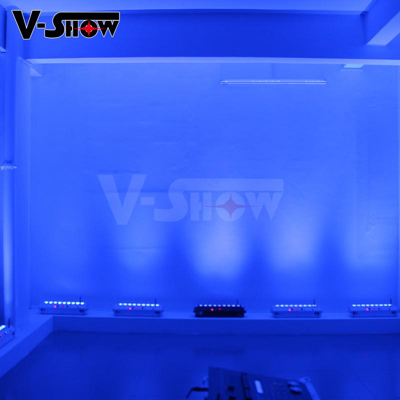led color wash 9*18w rgbwa uv led moving wash bar with battery and wireless  8