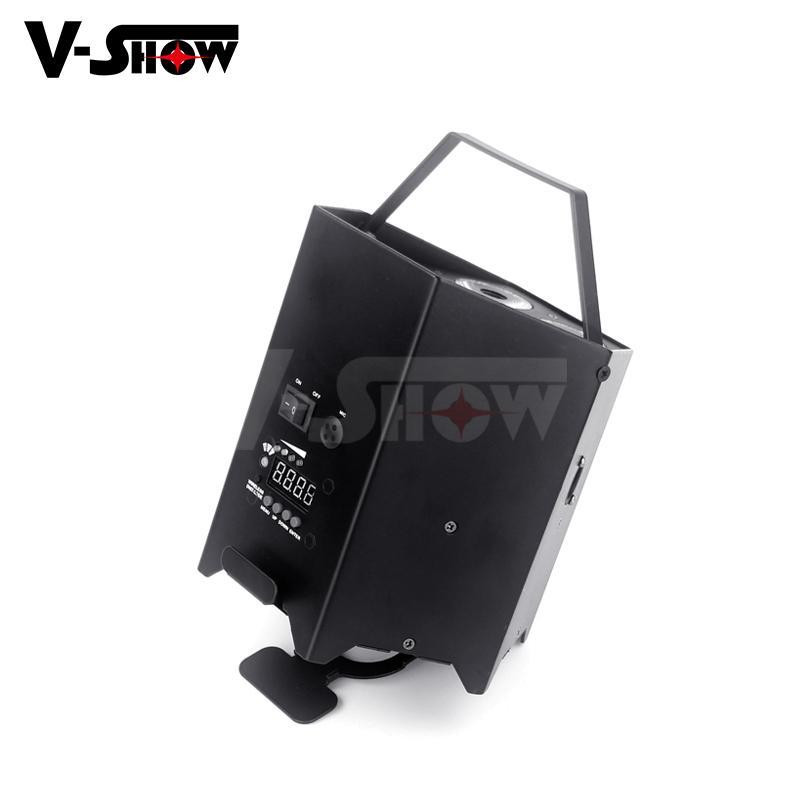 6*18w rgbwa uv battery power +wifi +irc led uplight ,disco wifi par ,mobile dj  2