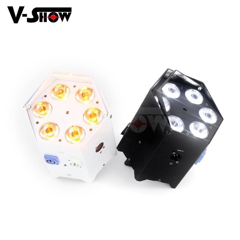 6*18w rgbwa uv battery power +wifi +irc led uplight ,disco wifi par ,mobile dj  3