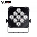 9*18w rgbwa uv battery powered led uplight ,perfect for wedding ,events,club ,dj 2