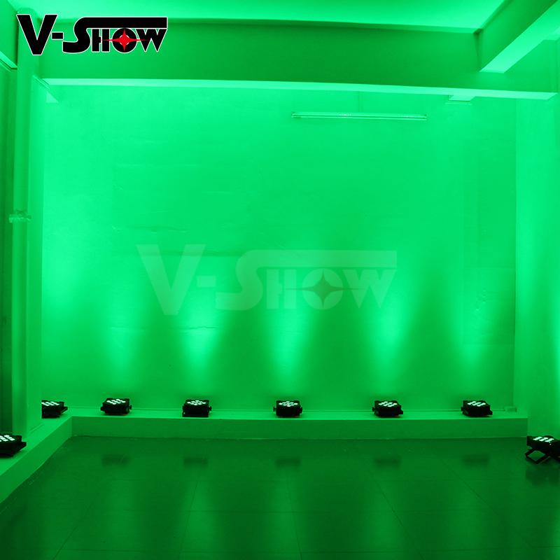 9*18w rgbwa uv battery powered led uplight ,perfect for wedding ,events,club ,dj 8