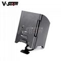 new arrivaldj ighting  4*18w rgbwa uv wireless dmx +battery +ir remote led par