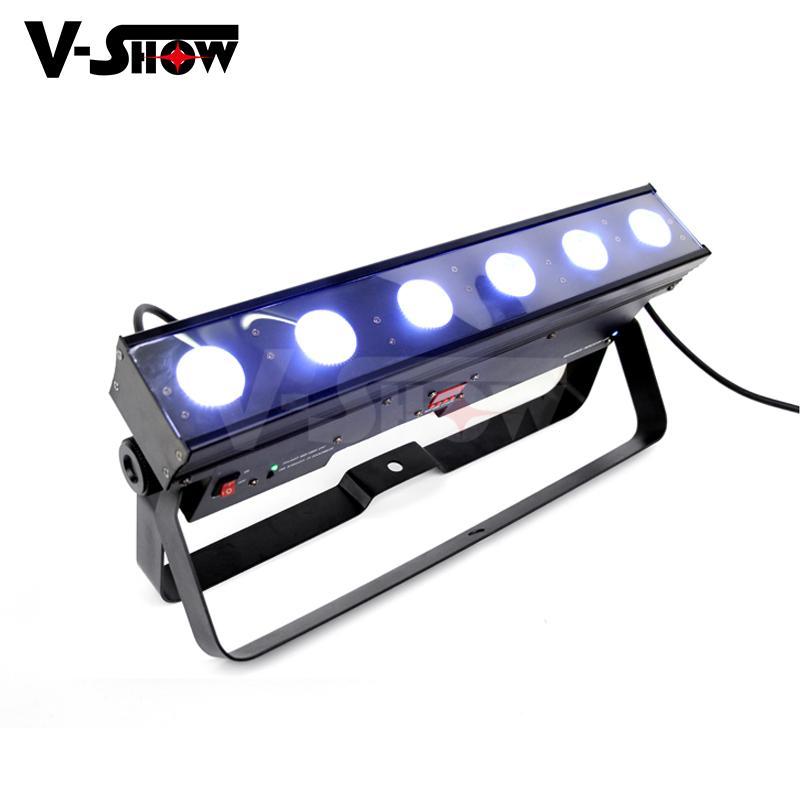 battery powered led wall washer  6*15w rgbwa wireless &battery led bar uplight  2