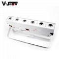 battery powered led wall washer  6*15w rgbwa wireless &battery led bar uplight  3