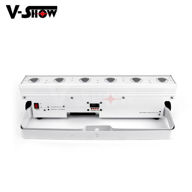 battery powered led wall washer  6*15w rgbwa wireless &battery led bar uplight  4
