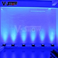 High brightness 12*18w rgbwa uv led flat par perfect for disco ,club ,wedding