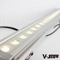 24*3w warm white led wash bar ,led dj light bar ,led city color wall washer