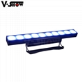 10PCS 30W RGBW 4in1 High Power LED wall washer light bright stage wall washer 8