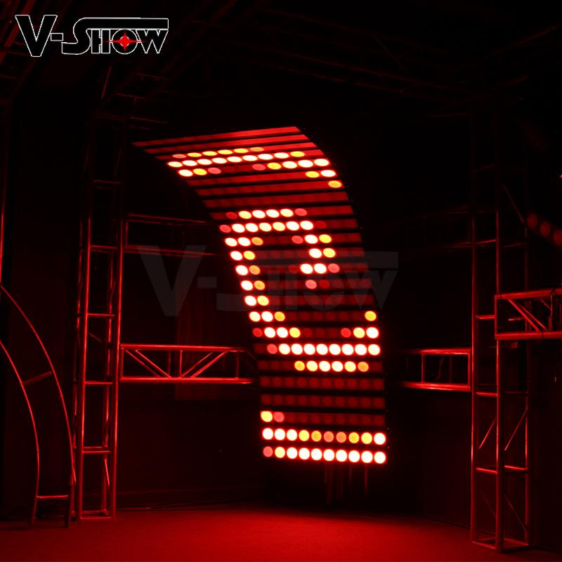 10PCS 30W RGBW 4in1 High Power LED wall washer light bright stage wall washer 9