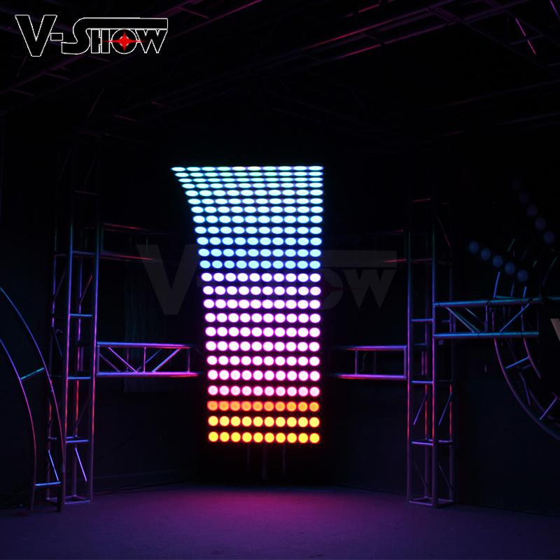 10PCS 30W RGBW 4in1 High Power LED wall washer light bright stage wall washer 10