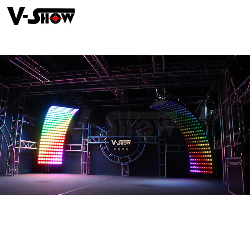 10PCS 30W RGBW 4in1 High Power LED wall washer light bright stage wall washer 18