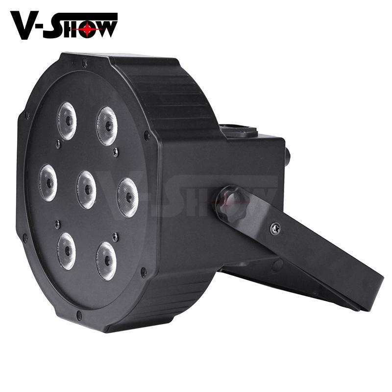 7*10W RGBW 4in1 Mega LED Par Flat Par 5