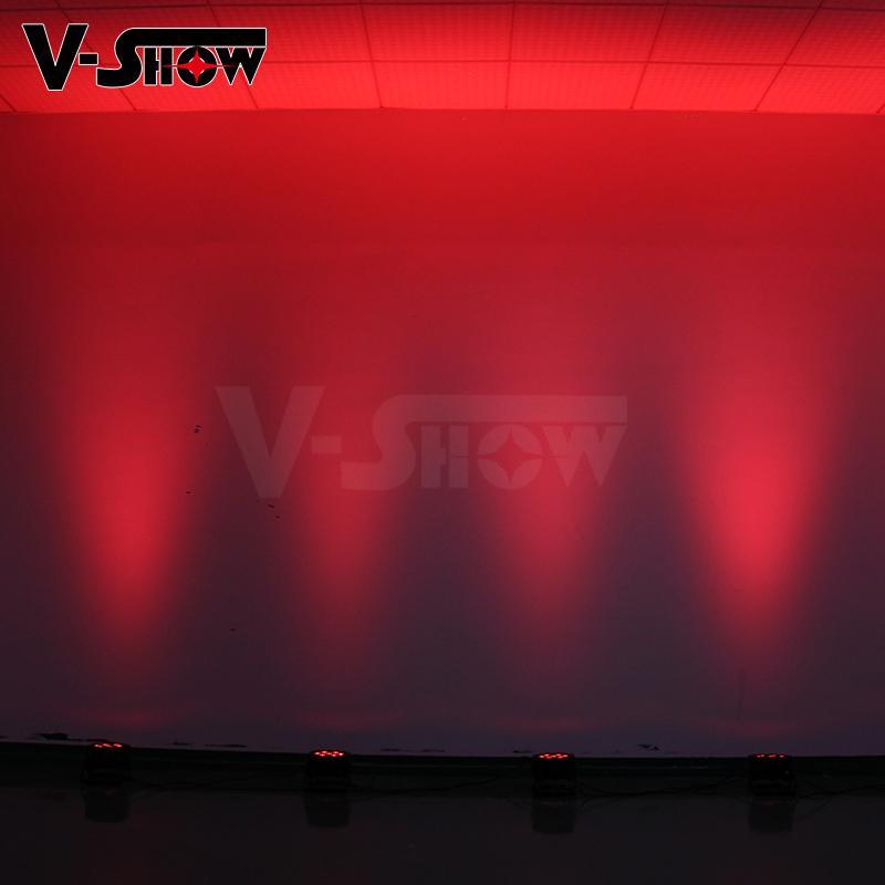 7*10W RGBW 4in1 Mega LED Par Flat Par 6