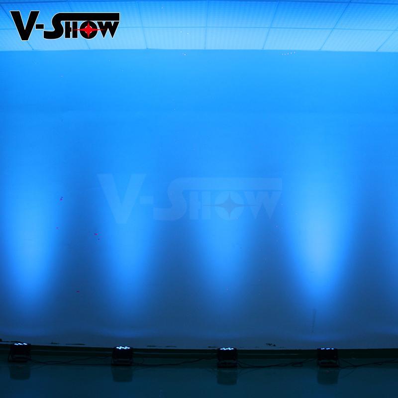 7*10W RGBW 4in1 Mega LED Par Flat Par 8
