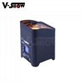 6*18W RGBWA+UV 6in1 Battery/Wireless DMX/Wifi Remote LED battery Uplight