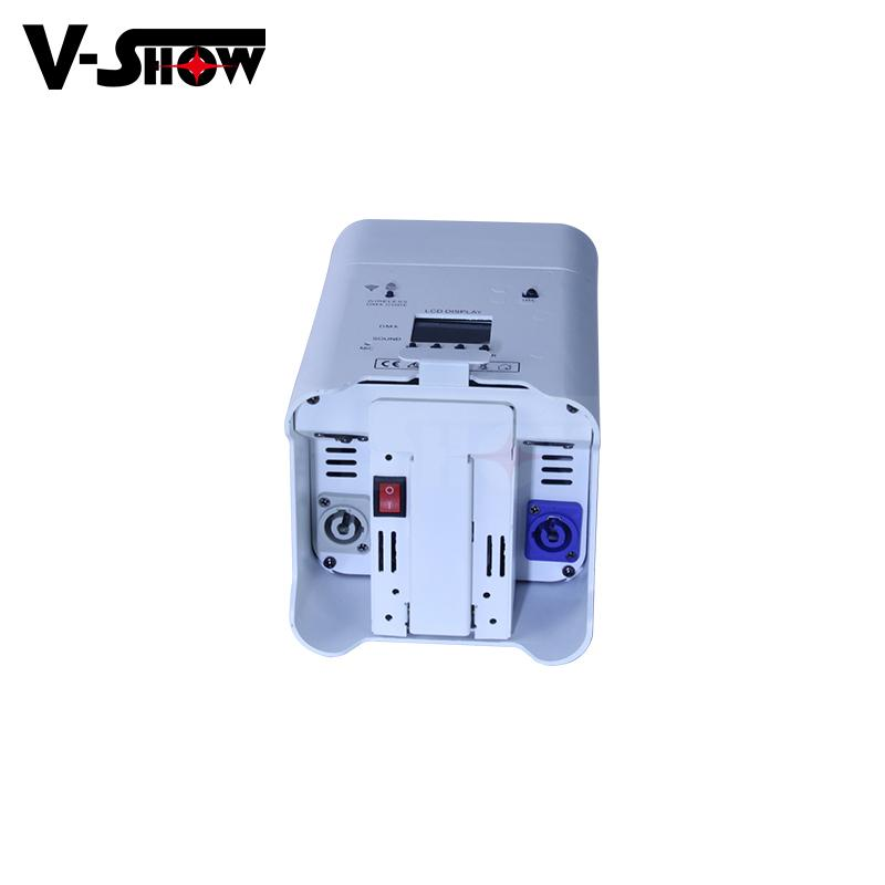 6*18W RGBWA+UV 6in1 Battery/Wireless DMX/Wifi Remote LED battery Uplight 6