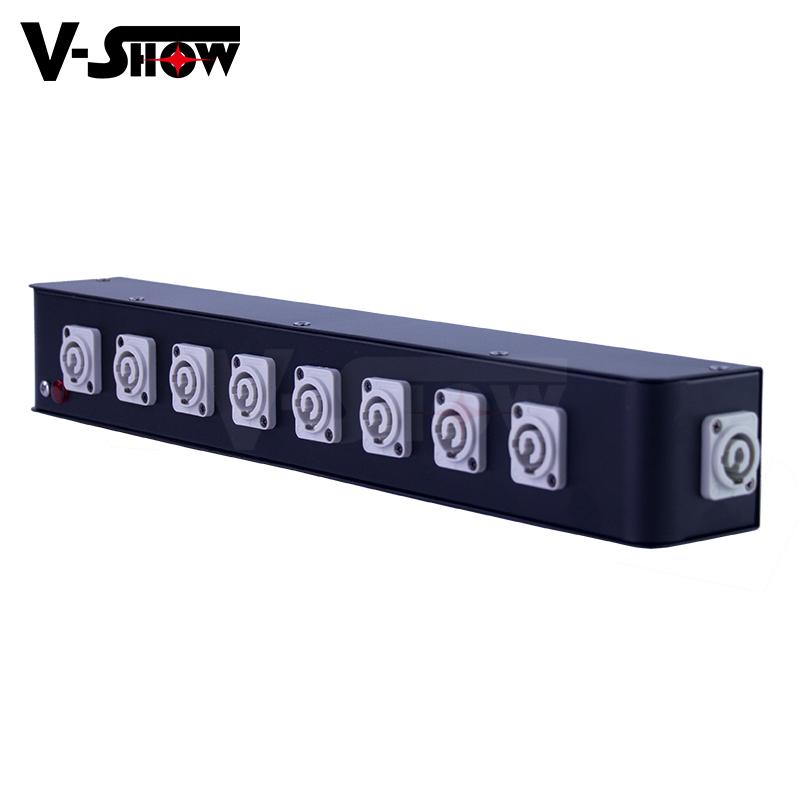 8 Port Powercon Power Box, powercon in and powercon out for moving head,dj light 1