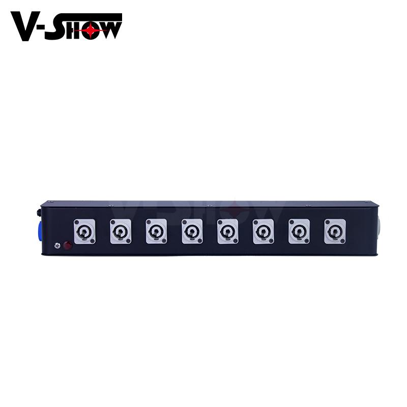 8 Port Powercon Power Box, powercon in and powercon out for moving head,dj light 4