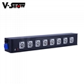 8 Port Powercon Power Box, powercon in and powercon out for moving head,dj light